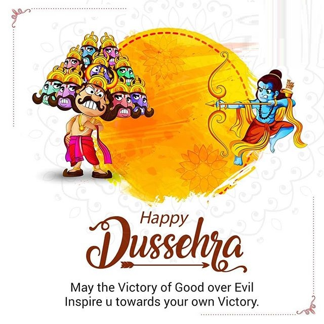 happy dussehra wishes in hindi